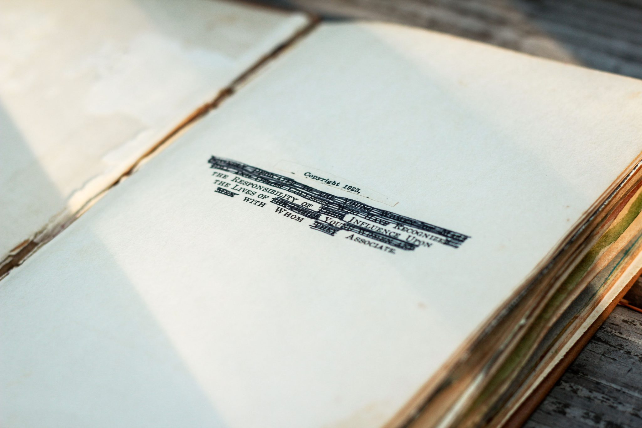 Art Journaling. Antique Books. Repurposing. Upcycling.   Videmus Art. Syd Wachs.